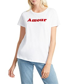 Cotton Amour Graphic T-Shirt