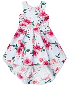 Toddler Girls Floral High-Low Dress