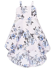 Little Girls Floral High-Low Dress