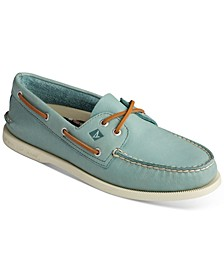 Men's Authentic Original 2-Eye Green Boat Shoes