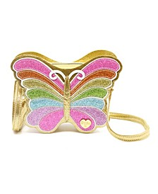 Toddler, Little, & Big Girls Butterfly Charm Bag