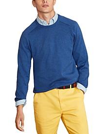 Men's Red Fleece Sweater