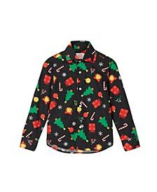 Toddler Boys Icons Christmas Shirt