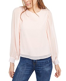 Volume Sleeve Blouse