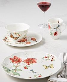 Butterfly Meadow Red Dinnerware Collection, Created for Macy's