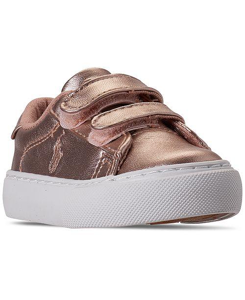 the best best price sale usa online Polo Ralph Lauren Toddler Girls Easten EZ Stay-Put Closure ...
