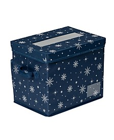 Deluxe 36-Cube Ornament Storage Box