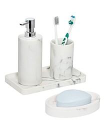 4-Pc. Bathroom Accessories Set
