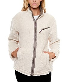 Popcorn Fleece Zip Jacket