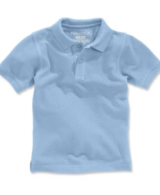 Image of Nautica School Uniform Polo, Big Boys (8-20)
