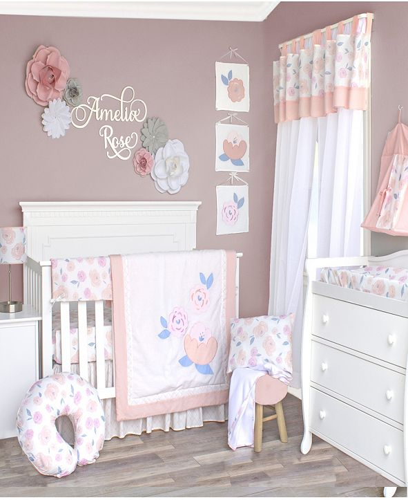Pam Grace Creations 13 Piece Crib Bedding Set