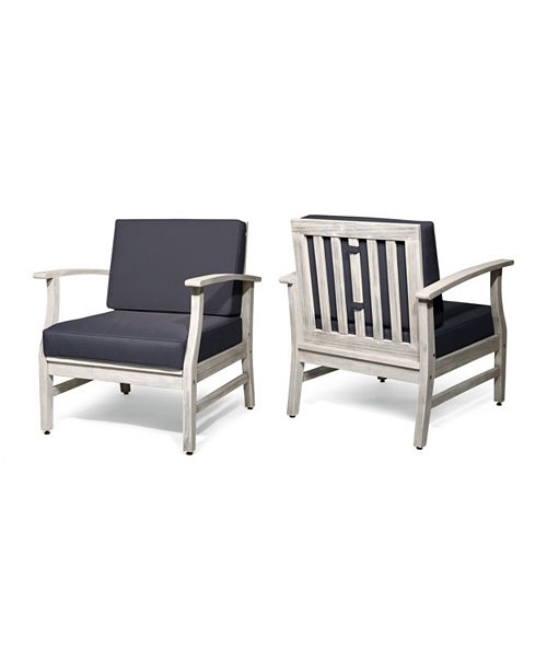 Noble House Perla Club Chair (Set of 2)