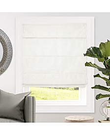 Cordless Roman Shades, Blackout Lining Cascade Window Blind