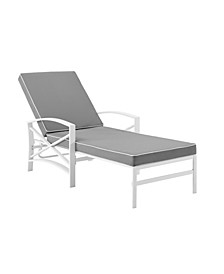 Kaplan Chaise Lounge Chair With Cushion