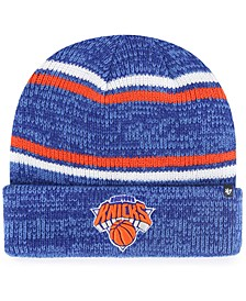 New York Knicks Marled Stripe Cuff Knit Hat