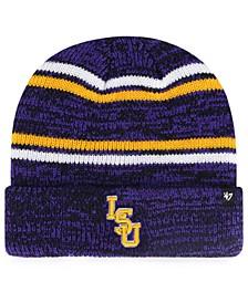 LSU Tigers Marled Stripe Cuff Knit Hat