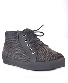 Hampton Tweed Waterproof Women's Rain Sneaker