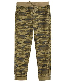Toddler Boys Stretch Twill Camouflage Chino Pants, Created for Macy's