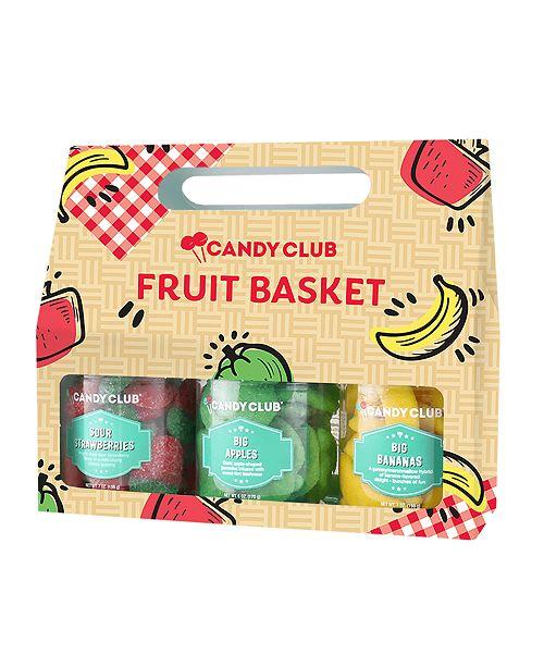Candy Club Fruit Basket - Giftset