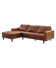 George Leather Sectional