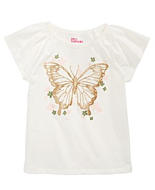 Little Girls Butterfly T-Shirt, Created For Macy's