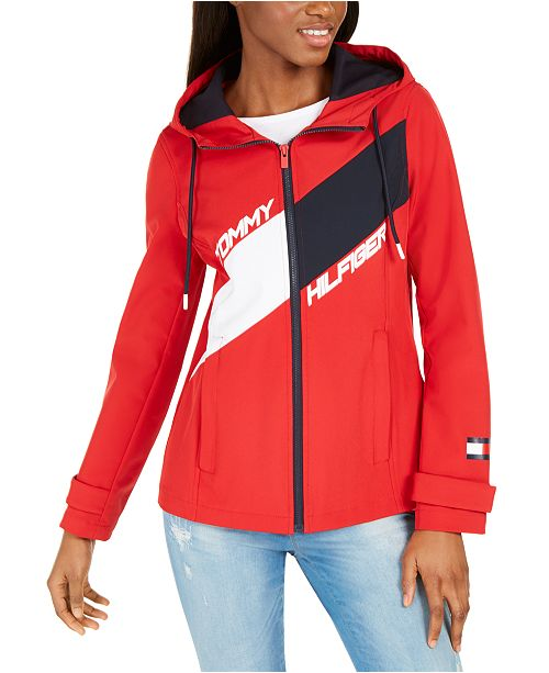 Tommy Hilfiger Hooded Anorak Jacket