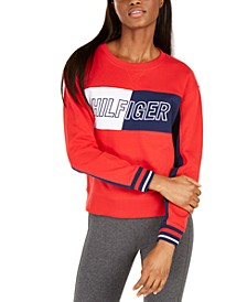 Colorblocked French Terry Sweatshirt