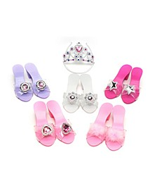 Glam Girl Deluxe Shoe And Tiara Dress Up Set