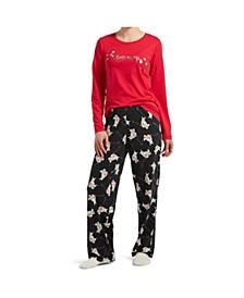 Matching Pajama & Socks 3-Pc Set, Online Only