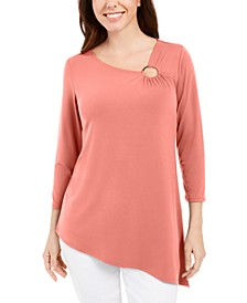 Asymmetrical Ring Tunic, Created for Macy's