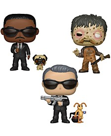 Pop Movies Men In Black Collectors Set - Agent K Needle, Agent J Frank, Edgar