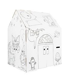 Friends Funhouse Cardboard Playhouse