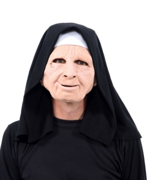 ZagOne Size Studios Nun For You Latex Adult Costume Mask One Size
