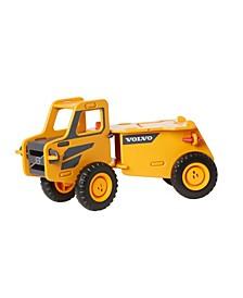 Toys Wooden Foot-To-Floor Volvo Wooden Dump Truck
