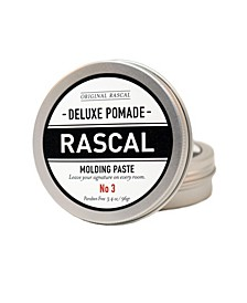 Deluxe Pomade 3, Natural Look Hold Molding Paste, 3.4 oz
