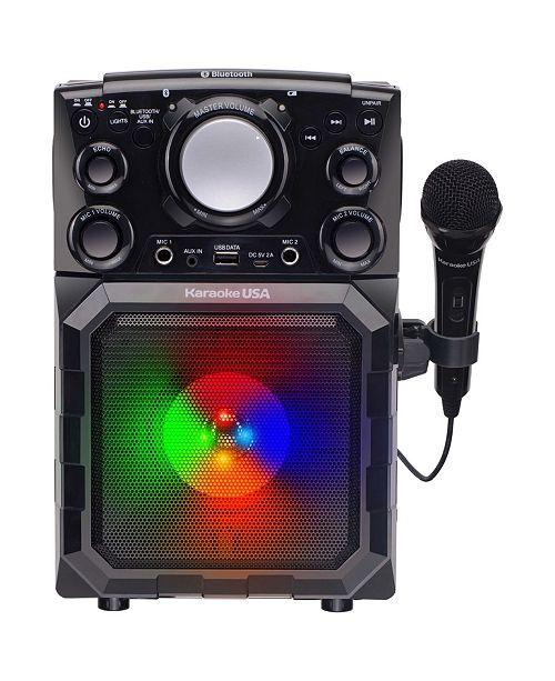 Karaoke USA GQ410 Portable MP3 Karaoke Player