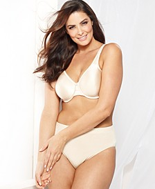 Basic Beauty Full Figure Underwire Bra and B-Smooth High Cut Brief