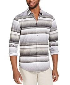 Men's Varied Stripe Shirt, Created for Macy's