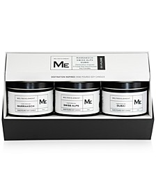 3-Pc. Explore Travel Candle Gift Set
