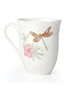 Butterfly Meadow Gold - 20th Anniversary Dragonfly Mug