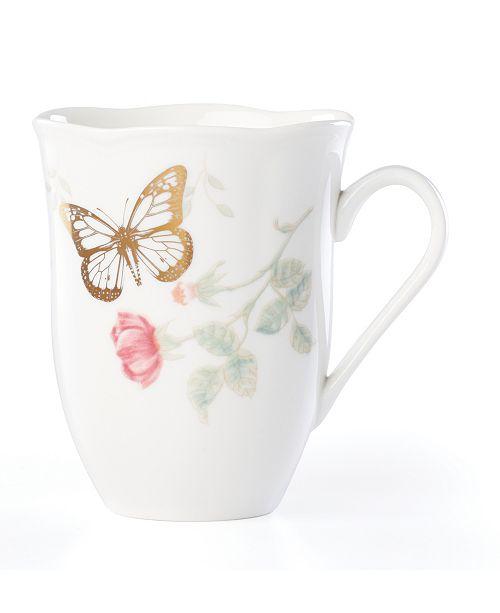 Lenox Butterfly Meadow Gold - 20th Anniversary Monarch Mug