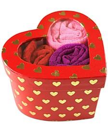 Women's 3-Pk. One-Size Original-Rise Thongs In Heart Box 48RGHT3PK