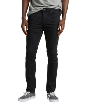 Perfectly slim from hip to ankle, the Kenaston from our men\'s contemporary collection is made for the modern guy who wants a sleek, streamlined fit that\'s not too tight. This pair\'s crafted with our premium performance stretch denim that has ultimate flexibility and mobility for guys who are always on the go. Finished with a clean black wash that\'s great for dressing up or down and a modern slim leg for a tailored, polished look.