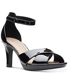 Clarks Collection Women's Adriel Cove Dress Sandals