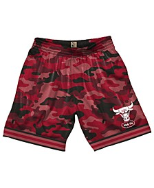Men's Chicago Bulls Camo Mesh Shorts