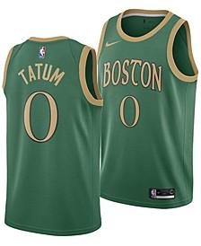 Men's Jayson Tatum Boston Celtics City Edition Swingman Jersey