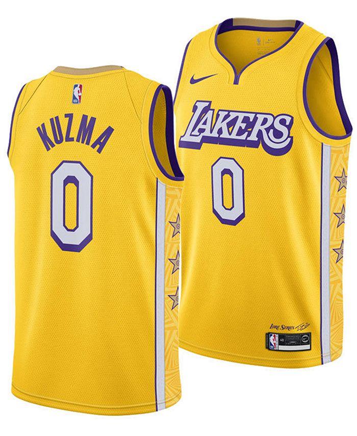 Nike Men's Kyle Kuzma Los Angeles Lakers City Edition Swingman ...