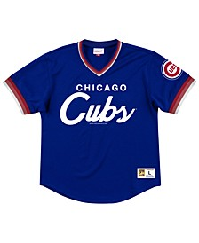 Men's Chicago Cubs Script Mesh Jersey
