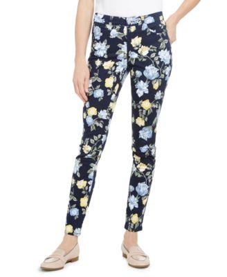 Floral Lexington Straight-Leg Jeans, Created for Macy's