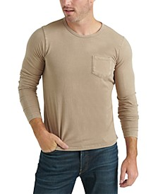 Men's Long-Sleeve Pocket T-Shirt